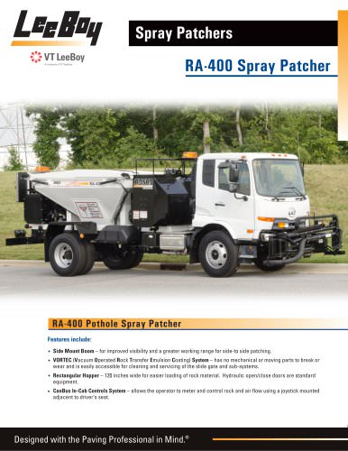 Pothole Patcher:RA-400