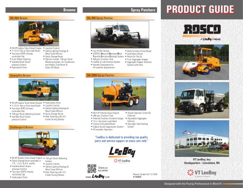 Rosco Product Guide
