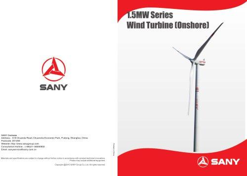 1.5MW Series Wind Turbine Generator (Onshore)
