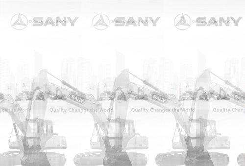 SANY HYDRAULIC EXCAVATOR SY205C/SY215C