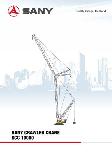 SANY SCC10000 1000TONS CRAWLER CRANE