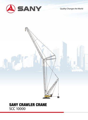 SANY SCC10000 Crawler Crane