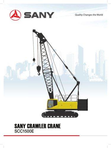 SANY SCC1500E Crawler Crane