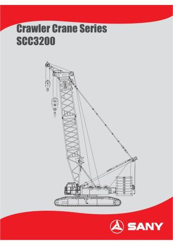 SANY SCC3200 Crawler Crane