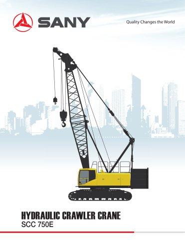 SANY SCC750E Crawler Crane