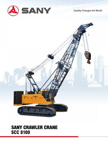 SANY SCC8100 Crawler Crane