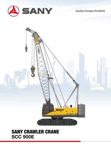 SANY SCC900E Crawler Crane