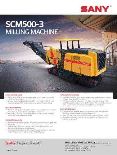 SANY SCM500-3 MILLING MACHINE
