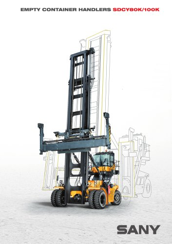 SANY SDCY80 Empty Container Handler