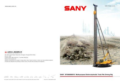 SANY SF558/808/818