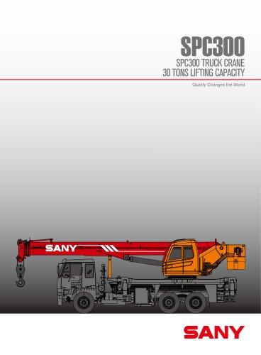 SANY SPC300 30TON telescopic truck crane