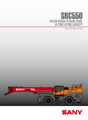SANY SRC 550U ROUGH TERRAIN CRANE