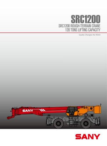 SANY SRC1200 120 TONS ROUGH TERRAIN CRANE