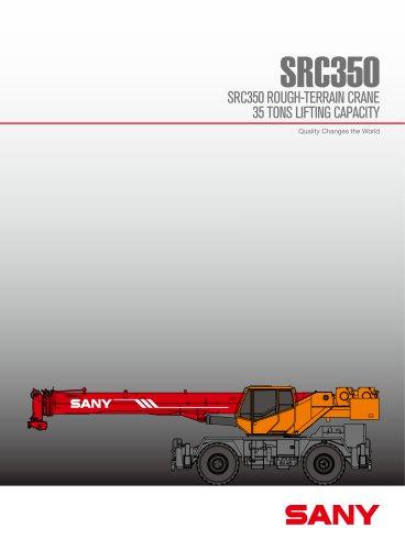 SANY SRC350 Rough Terrain Crane