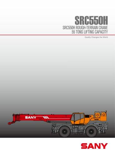 SANY SRC550H ROUGH-TERRAIN CRANE
