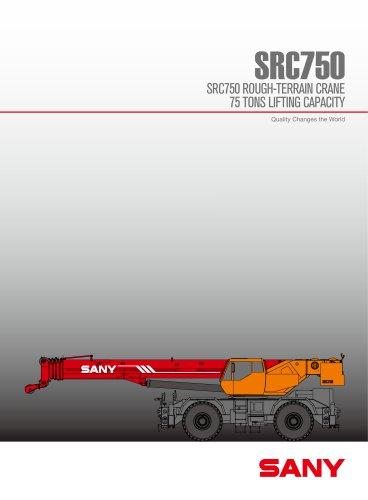 SANY SRC750 ROUGH-TERRAIN CRANE