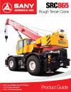 SANY SRC865 Rough Terrain Crane