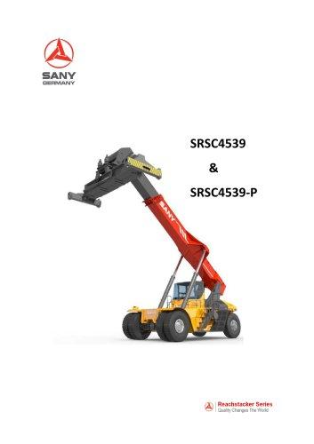 SANY SRSC4539 Reach Stacker