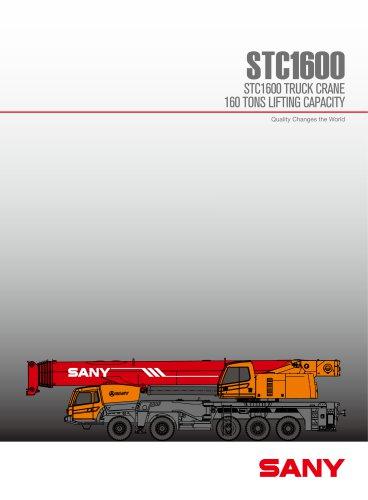 sany stc1600 160t mobile crane