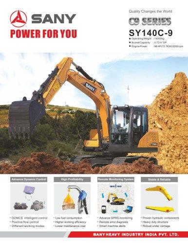 SANY SY140C-9 Hydraulic Excavator