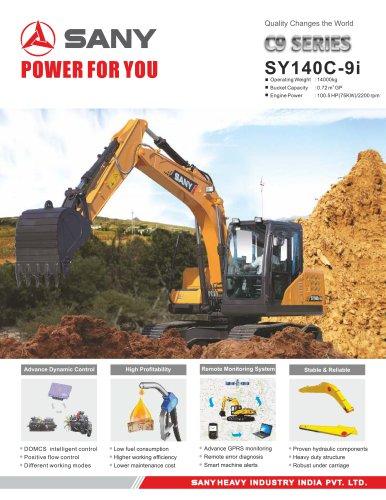 SANY SY140C-9i Hydraulic Excavator