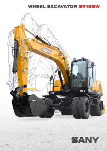 SANY SY155 Weel Excavator