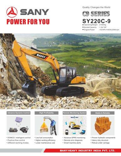 SANY SY220C Medium Excavator