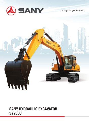 SANY SY235C 23.5TON Medium Excavator