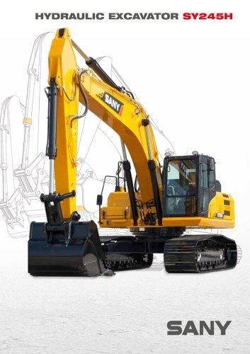 SANY SY245H 24.5 ton Hydraulic Excavator