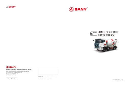 SANY SY308C-8 Truck Mixer