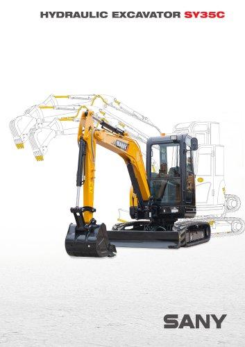 SANY SY35 3.5 tons excavator