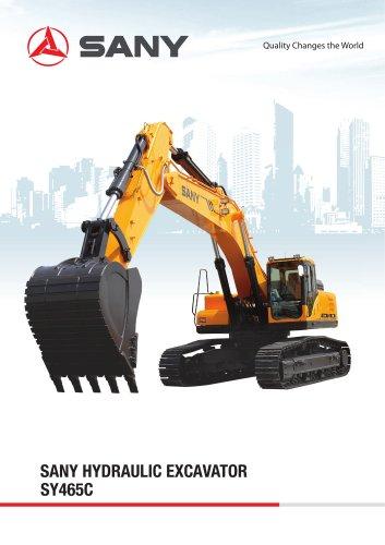 SANY SY465C 46.5 tons Large Excavator