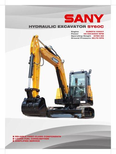 SANY SY60C 6.1 ton Excavator