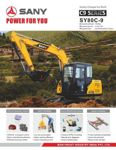 SANY SY80C-9S Small Excavator
