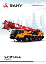 SANY TRUCK CRANE STC 500