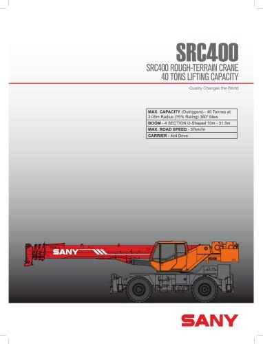 SRC400 ROUGH-TERRAIN CRANE