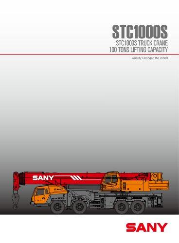 STC1000S 100 TONS CRAWLER CRANE