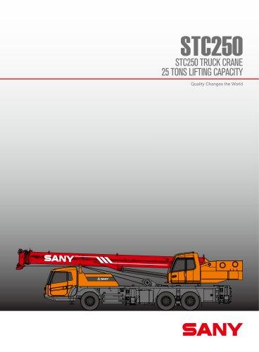STC250 25ton truck cranes