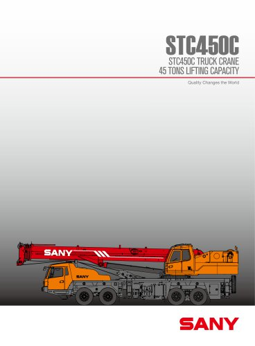 STC450 45TON TRUCK CRANE