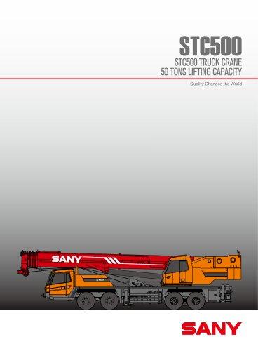 STC500 50ton stable truck crane