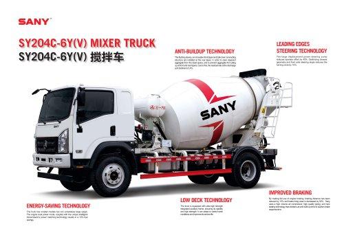 SY204C-6Y(V) MIXER TRUCK