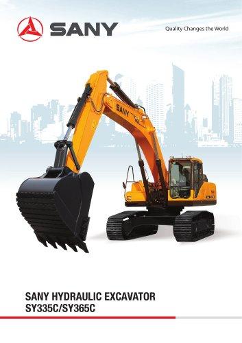 SY335C/SY365C SANY 36.5ton Excavator
