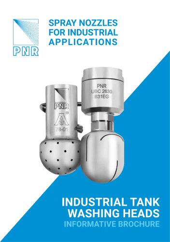 BROCHURE - INDUSTRIAL TANK WASHING SYSTEMS