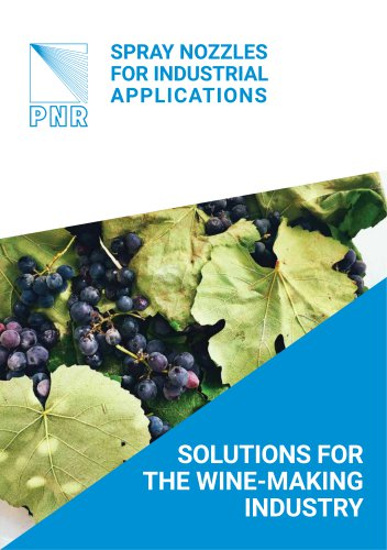 BROCHURE - SOLUTIONS FOR THE WINE-MAKING INDUSTRY