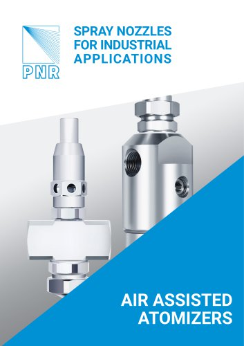 CATALOGUE - AIR ASSISTED ATOMIZERS
