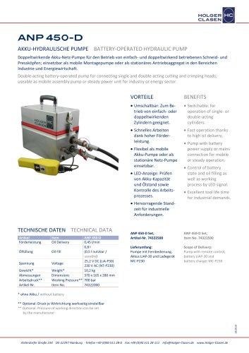 ANP 450-D-Set
