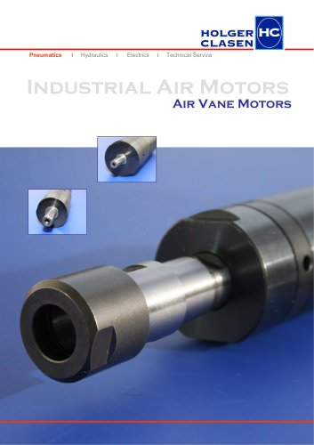 Brochure Air Vane Motors