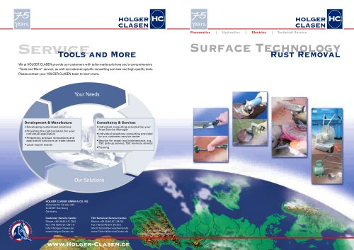Brochure Surface Technology - Rust Removal