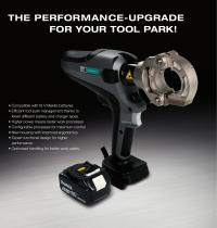 ComfortSerie - Cable Treatment Tools with Makita Battery - 2