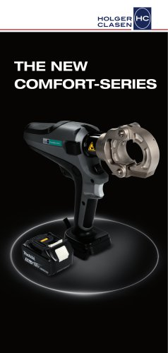 ComfortSerie - Cable Treatment Tools with Makita Battery